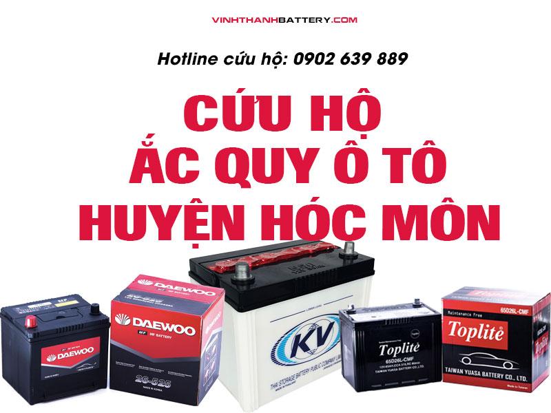 cứu hộ, câu bình, kích bình ắc quy tại huyện Hóc Môn - TpHCM