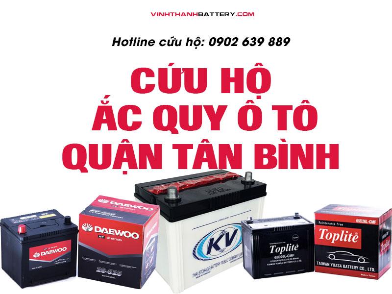 Cứu hộ, câu bình, kích bình ắc quy tại quận Tân Bình - TpHCM