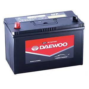 Ắc Quy Daewoo MF 100R 12V - 100AH