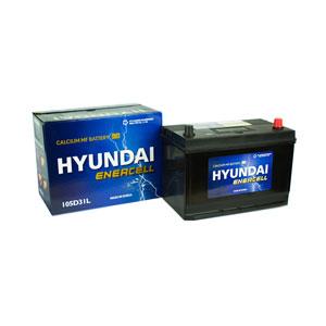 Ắc quy Hyundai 105D31L 12V 90Ah