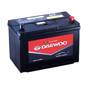 Bình ắc quy Oto Daewoo 105D31L 12V - 90AH