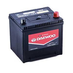 Bình ắc quy Oto Daewoo 50D20L  12V - 50Ah
