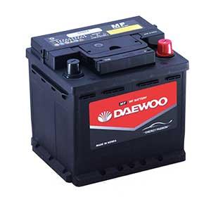 Bình ắc quy Oto Daewoo DIN 55054 12V - 50Ah