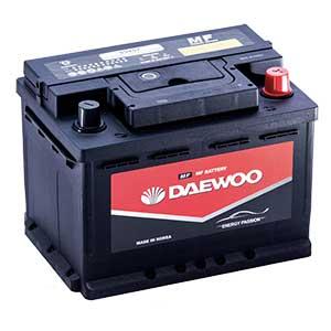 Ắc Quy Daewoo DIN 55457 12V - 54AH