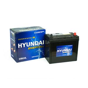Ắc quy Hyundai 55B24L 12V 45Ah