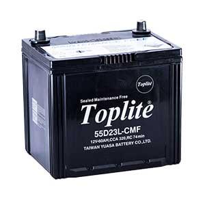 Bình ắc quy Oto Toplite 55D23L 12V-60AH