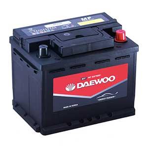 Bình ắc quy Oto Daewoo DIN 56219 12V - 62AH