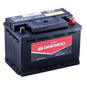 Bình ắc quy Oto Daewoo DIN 57412 12V - 90AH