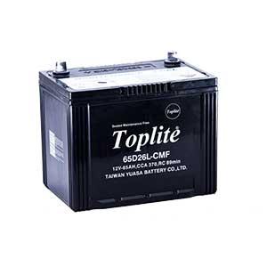 Bình ắc quy Oto Toplite 65D26L 12V-65AH