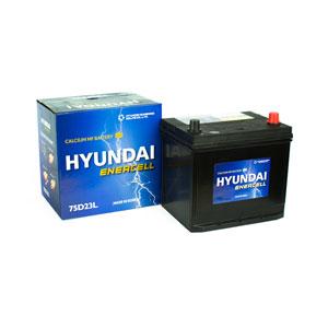 Ắc quy Hyundai 75D23L 12V 65Ah