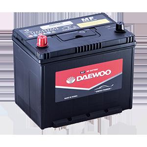 Ắc Quy Daewoo 90D26L 12V - 75AH