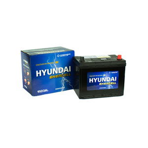 Ắc quy Hyundai 95D26L 12V 75Ah