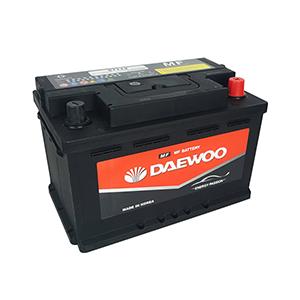 Bình ắc quy Oto Daewoo DIN 57113 12V - 71AH