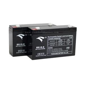 Ắc quy UPS EAGLE EG12-6 6V-12AH