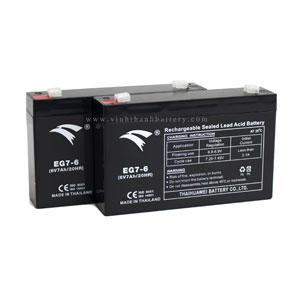Ắc quy UPS EAGLE EG7-6 6V 7AH
