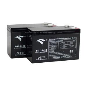 Ắc quy UPS EAGLE EG7.5-12 12V-7.5AH