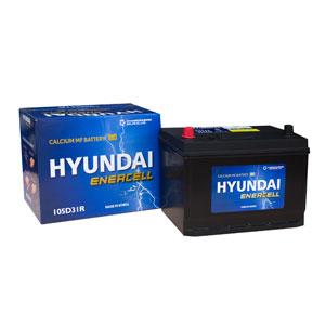 Ắc quy Hyundai 105D31R 12V-90AH
