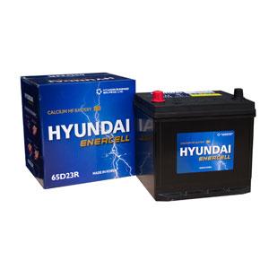 Bình ắc quy Oto Hyundai 65D23R 12V-60AH
