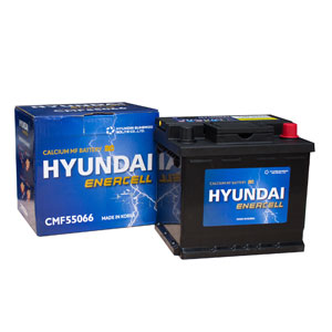 Bình ắc quy Oto Hyundai DIN55066 12V-50AH