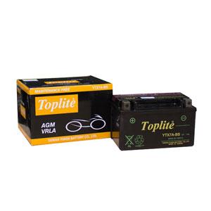 Ắc quy Toplite YTX7A-BS 12V-7AH