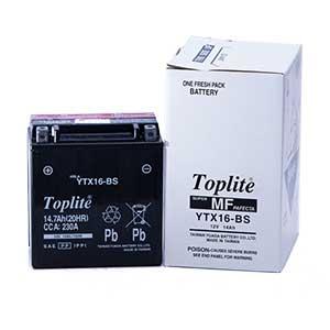 Ắc Quy Moto Toplite YTX16-BS 12V 14Ah