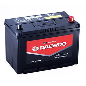 Bình ắc quy Oto Daewoo 95D31L 12V - 80AH