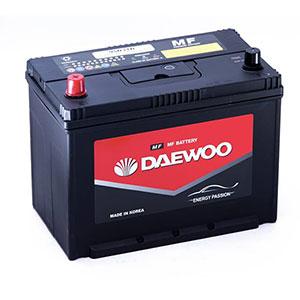 Bình ắc quy Oto Daewoo 12V 95D31R - 80AH