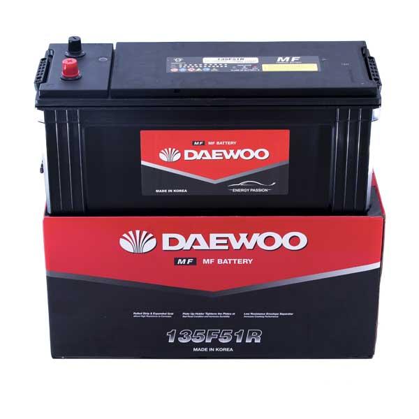 Bình ắc quy tàu thuyền Daewoo 135F51R 12V - 120AH