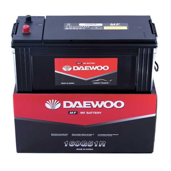 Ắc Quy Daewoo 160G51R 12V - 150AH