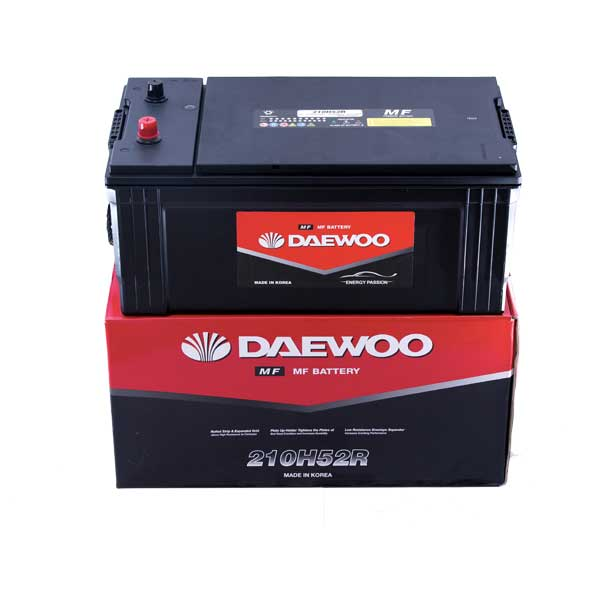 Ắc Quy Daewoo 210H52R  12V - 200AH