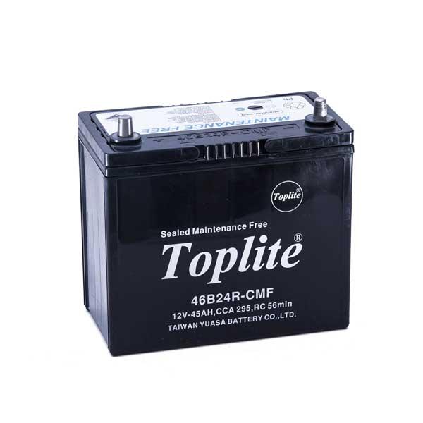 Bình ắc quy Oto Toplite 46B24R 12V-45AH