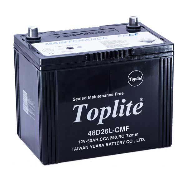 Ắc quy Toplite 48D26L 12V-50AH