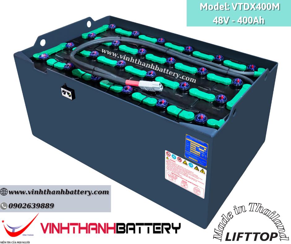 Bình ắc quy xe nâng Nhập Khẩu - LIFTTOP 48V-400Ah VTDX400M