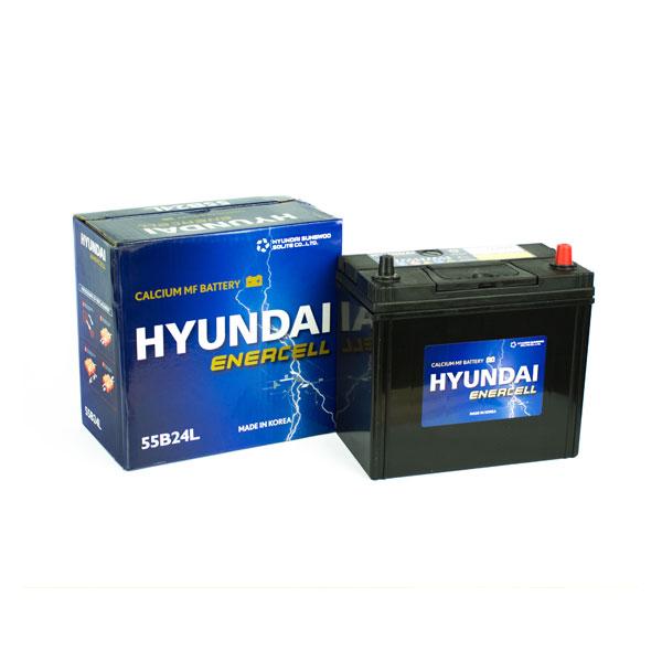 Ắc quy Hyundai 55B24L 12V-45AH