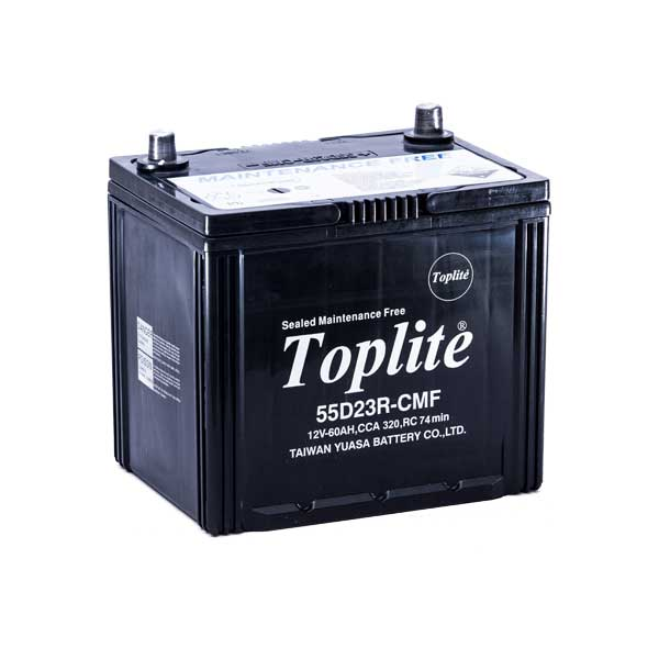 Ắc quy Toplite 55D23R 12V-60AH