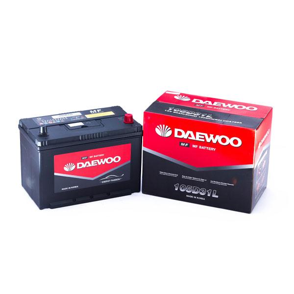 Ắc Quy Daewoo 105D31L 12V - 90AH