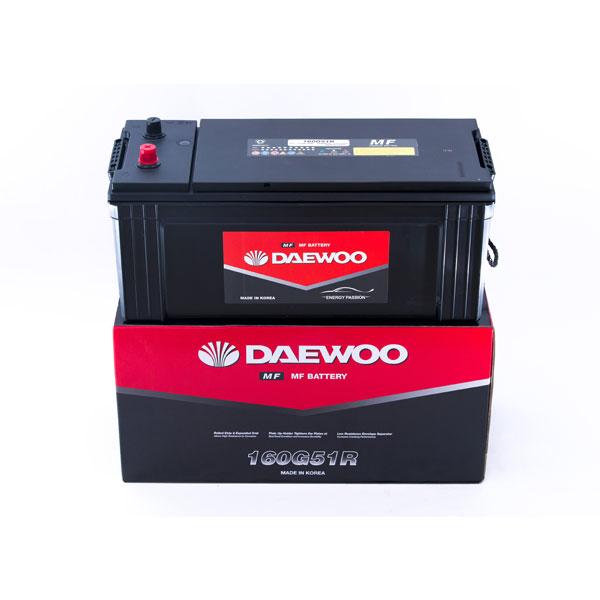 Bình ắc quy tàu thuyền Daewoo 160G51R 12V - 150AH