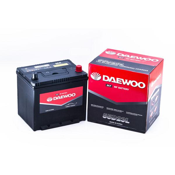 Ắc Quy Daewoo 55D23L 12V - 60AH