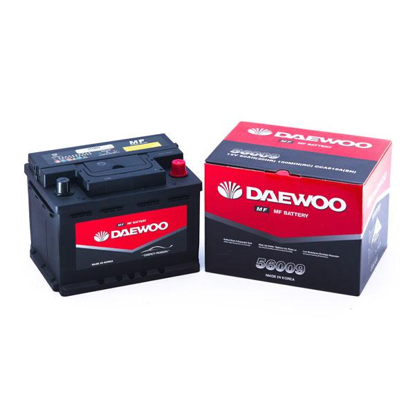 Bình ắc quy Oto Daewoo DIN 56009 12V - 60AH