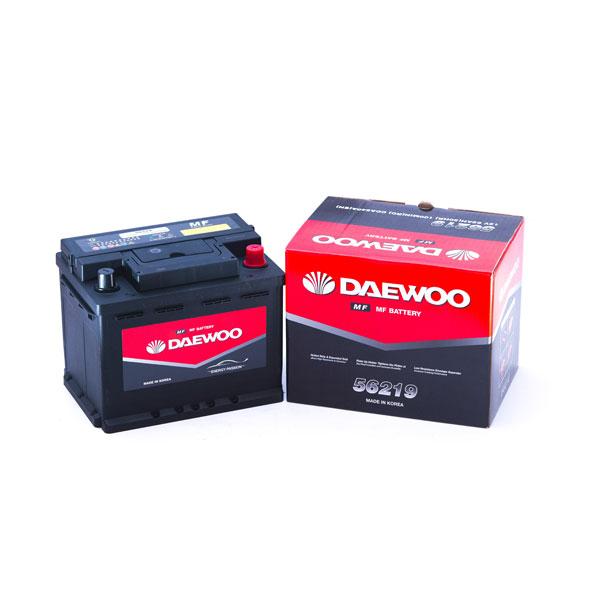 Ắc Quy Daewoo DIN 56220 12V - 62AH