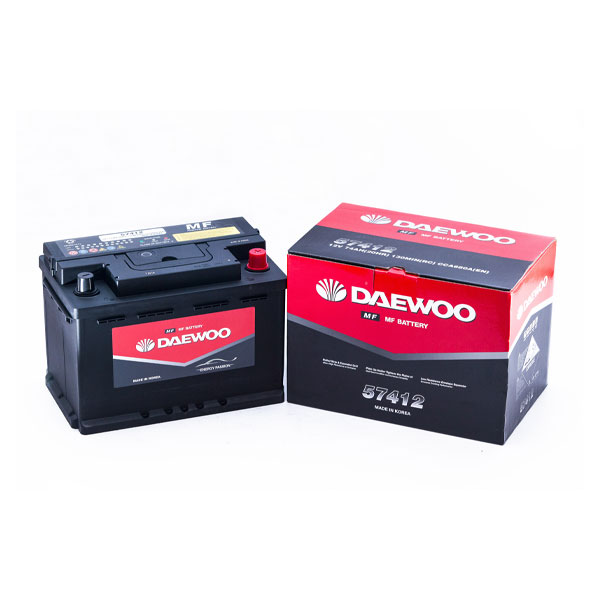 Ắc Quy Daewoo DIN 57412 12V - 90AH