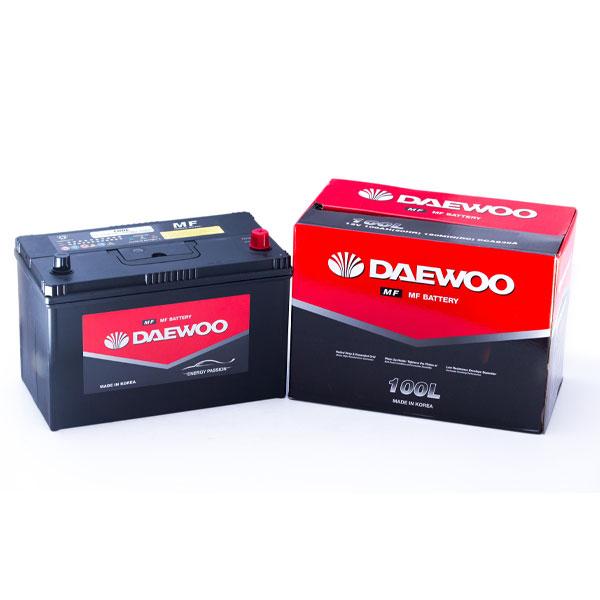 Ắc Quy Daewoo MF 100L 12V - 100AH