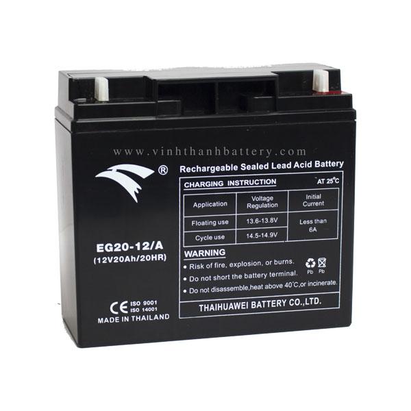 Bình ắc quy cho bộ lưu điện UPS EAGLE EG20-12/A 12V-20AH