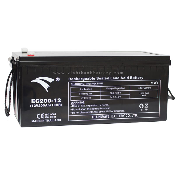 Ắc quy UPS EAGLE EG200-12 12V-200AH