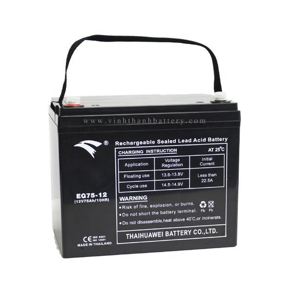Ắc quy UPS EAGLE EG75-12 12V-75AH