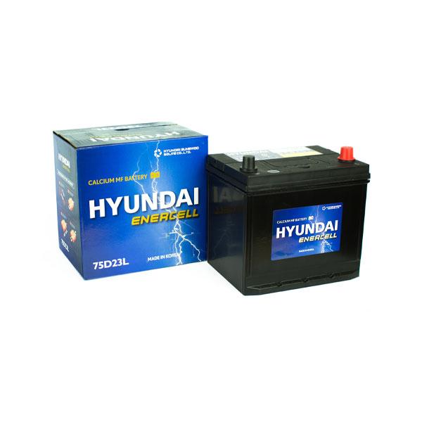 Ắc quy Hyundai 75D23L 12V-65AH