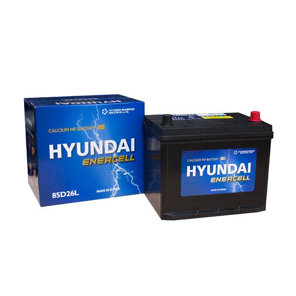 Bình ắc quy Oto Hyundai 85D26L 12V-70AH