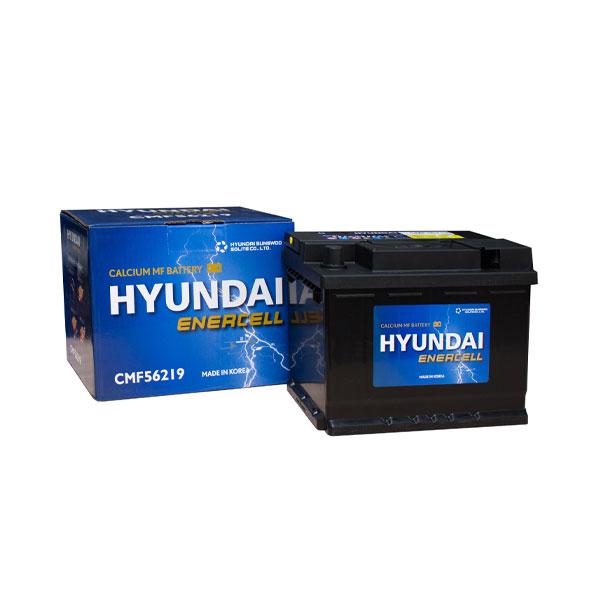 Bình ắc quy Oto Hyundai DIN56219 12V-62AH