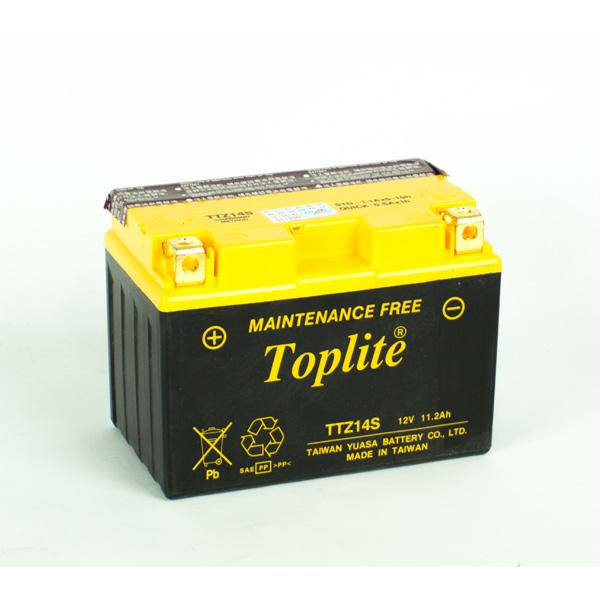 Ắc Quy Moto Toplite TTZ14S 12V - 11.2Ah