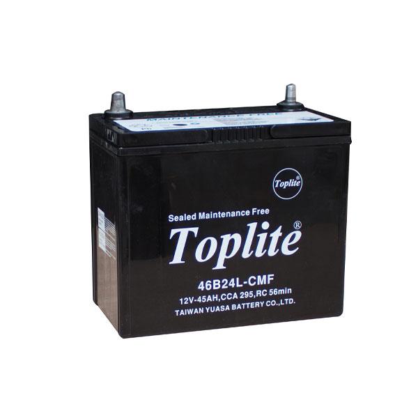 Bình ắc quy Oto Toplite 46B24L 12V-45AH